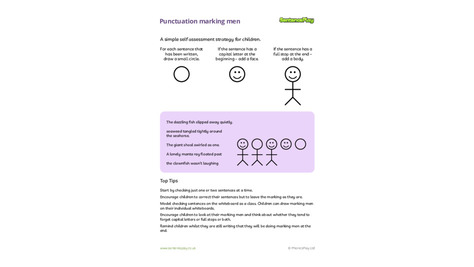 Punctuation Marking Men A Self Assessment Tool